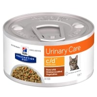 Hill's PD Feline C/D Chicken & Veggie Stew, 82 g