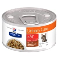 Hill's PD Feline C/D Stress Chicken & Veggie Stew, 82 g