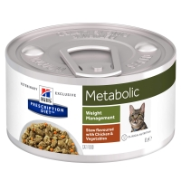Hill's PD Feline Metabolic Chicken & Veggie Stew, 82 g