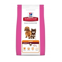 Hill's SP Canine Adult Light Small & Miniature Pui si Curcan 300 g