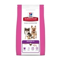 Hill's SP Canine Senior +11 Small & Miniature cu Pui si Curcan, 1.5 kg