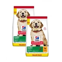 Pachet 2 x Hill's SP Canine Puppy Large Breed Pui, Value Pack, 16 Kg