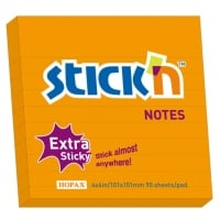 Notes autoadeziv extra-sticky liniate 101 x 101mm, 90 file, Stick