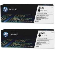 HP CF380XD TONER 312X 2/PACK HY BLACK