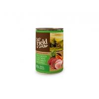 Hrana Umeda Pentru Caini Puppy Sam's Field Pui Vitel Si Morcovi 400 g