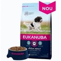 Hrana uscata pentru caini Eukanuba, Adult Small & Mediu cu Pui, 12 kg