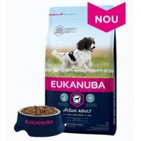 Eukanuba Adult Small & Mediu cu Pui, 3.5 kg