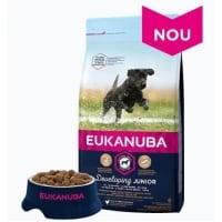 Eukanuba Junior Large cu Pui, 12 kg