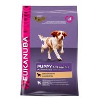 Eukanuba Puppy Junior cu Miel si Orez, 2.5 kg