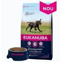 Eukanuba, Puppy Large Breed cu Pui, 12 kg