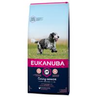 Hrana Uscata Pentru Caini Eukanuba, Senior Mediu cu Pui, 12 kg