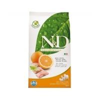 N&D Grain Free Adult, Peste si Portocale, 7 kg