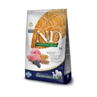 N&D Ancestral Grain Dog Adult Med&Maxi cu Pui si Rodie, 12 kg