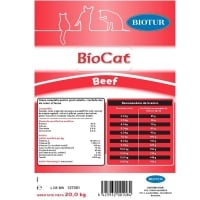 Hrana Uscata pentru Pisici, Biocat cu Vita, 20 kg