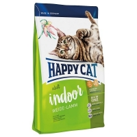 Happy Cat Adult Indoor, Miel de Ferma, 1.4 kg