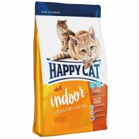 Happy Cat Adult Indoor, Somon de Atlantic, 300 g