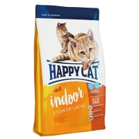 Happy Cat Adult Indoor, Somon de Atlantic, 4 kg