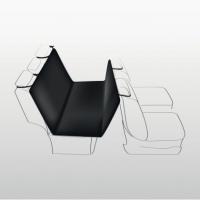 Husa Auto 1.40*1.45M Negru/Maro