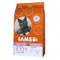 Iams Adult Cat Somon si Pui, 1.5 g