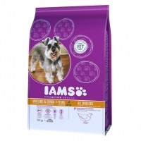 Iams Mature & Senior Small & Medium cu Pui, 1 kg