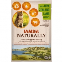 Iams Naturally Adult Cat, Miel, plic 85 g