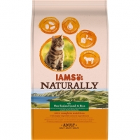 Iams Naturally Adult Cat Miel si Orez, 2.7 kg