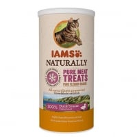 IAMS Naturaly Cat Freeze Dried Rata, 25 g