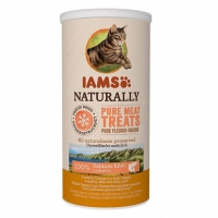 IAMS Naturaly Cat Freeze Dried Somon, 20 g