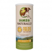 IAMS Naturaly Dog Freeze Dried Pui, 50 g
