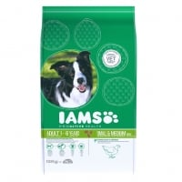 Iams Small and Medium Adult cu Pui, 3 kg