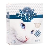 IMPERIAL CARE White, pachet economic asternut igienic bentonita pisici, iasomie, 10L x 2