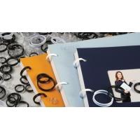 Inele plastic pentru legat, 15 mm,  75buc/cut, OPUS EasyRing - alb