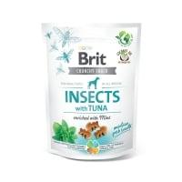 BRIT Care Crunchy Cracker, Insecte și Ton cu Mentă, recompense fără cereale câini, 200g