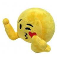 Jucarie De Plus Emoji Plushiez Kissandra, 35 cm