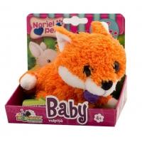 Jucarie De Plus Interactiva Noriel Pets Baby Vulpita