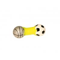 Jucarie Kerbl Dumbbell Sports, Gantera cu Sunet, 14.5 cm