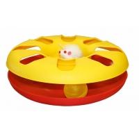 Jucarie pentru Pisici, Kerbl Racing Wheel, 24 cm, Diverse Culori