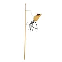 Jucarie Pentru Pisici Kerbl Undita Nature, 40 cm