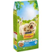 FRISKIES DOG JUNIOR PUI SI LEGUME, 2.4 KG