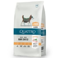 Quattro Premium Dog Junior All Breed cu Pui,7 kg