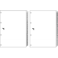 Index reversibil numeric 1-31/31-1, A4, carton alb 190g/mp, KANGARO Easy Move