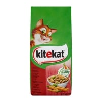 KITEKAT, Vită și legume, pachet economic hrană uscată pisici, 12kg x 2