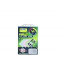 Suport PP, pentru carduri,  74 x 105mm, vertical cu sistem de agatare, 10 buc/set, KEJEA - transp