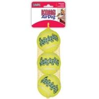 Kong Air Squeak Jucarie Caine Minge Tenis XS, 3 Buc