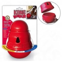 Kong Jucarie Caine Wobbler Biscuit Dispenser, S