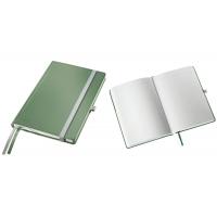 Caiet de birou A5, LEITZ Style, coperti carton rigid - fistic, hartie crem - dictando