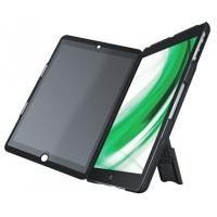 Multi-carcasa LEITZ Complete, cu stativ si capac cu filtru Privacy landscape pentru iPad Air - negru