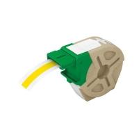 Cartus inteligent cu etichete de plastic LEITZ Icon, 12mmx10m, plastic galben, adeziv permanent