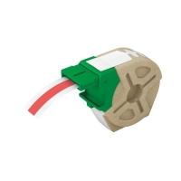 Cartus inteligent cu etichete de plastic LEITZ Icon, 12mmx10m, plastic rosu, adeziv permanent