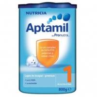 Lapte Praf Aptamil 1 Premium Nutricia Cu Prontur de la Nastere, 800 g